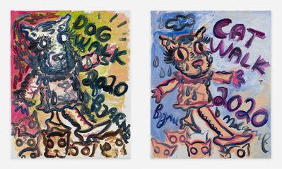 Bjarne Melgaard, 'Cat/Dog Walk', ca. 2020