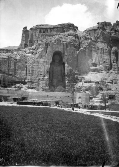 Unknown Artist, 'Bamiyan, Large Buddha', ca. 1933