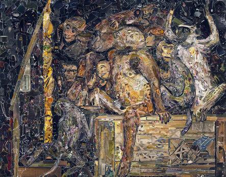 Vik Muniz, 'Pictures of Magazine 2: Monkeys as art critics, after Gabriel Cornelius von Max', 2013