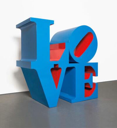 Robert Indiana, 'LOVE (Blue Outside Red Inside)', 1995