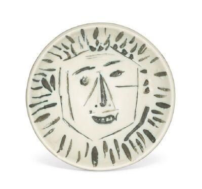 Pablo Picasso, 'Visage de Face Ramié  454', 1960