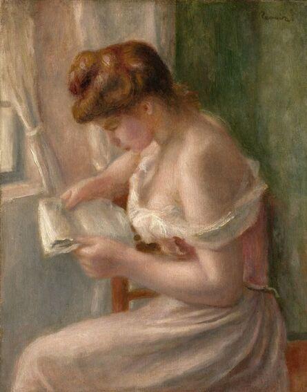 Pierre-Auguste Renoir, 'Woman Reading', ca. 1895