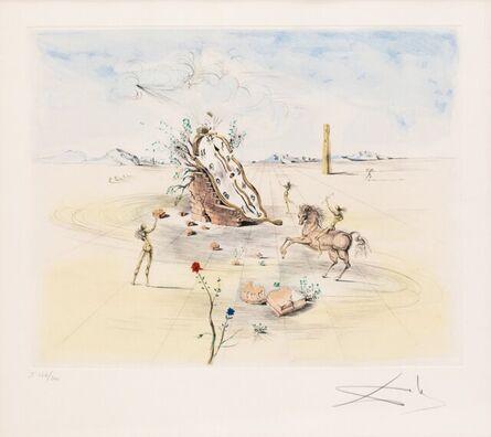 Salvador Dalí, 'Cosmic Horseman', ca. 1982