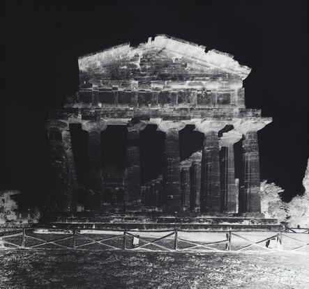 Vera Lutter, 'Temple of Athena, Paestum, VII: October 12, 2015', 2015