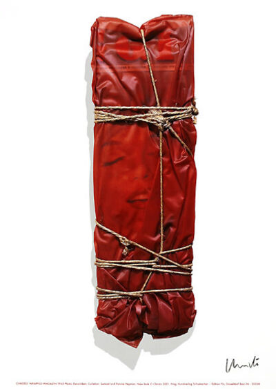 Christo and Jeanne-Claude, 'Wrapped Magazine (Marilyn Monroe)', 2003