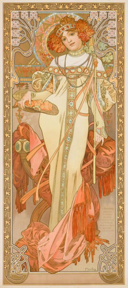 Alphonse Mucha, 'Autumn', 1900-1903