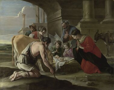 Louis Le Nain, 'The Adoration of the Shepherds', ca. 1635
