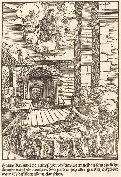 Master of the Miracles of Mariazell, 'Hanns Krumbel von Ewsitz ...                                                         d'organdie)', ca. 1503