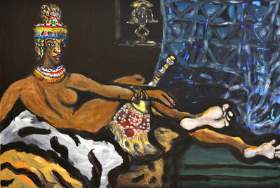 Jeffrey Spencer Hargrave, 'Honey Brown Beauty (after Matisse)', 2016