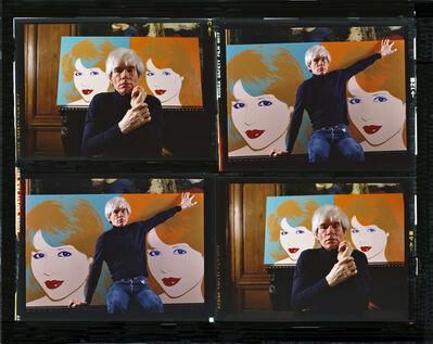 Harry Benson, 'Andy Warhol, New York (Times Four)', 1983