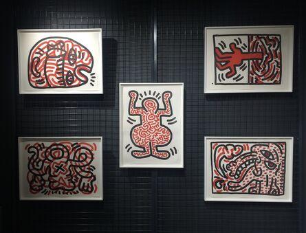 Keith Haring, 'Ludo (Complete Portfolio)', 1985