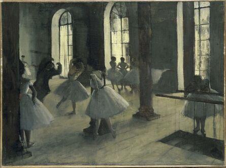 Edgar Degas, 'La Répétition au foyer de la danse', ca. 1870-1872