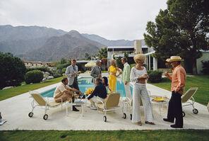 Slim Aarons, 'Poolside Social ', 1970