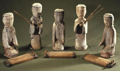 'Musician figurines'