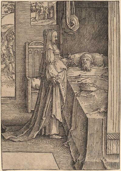 Lucas van Leyden, 'Jezebel and Ahab', 1517/1518