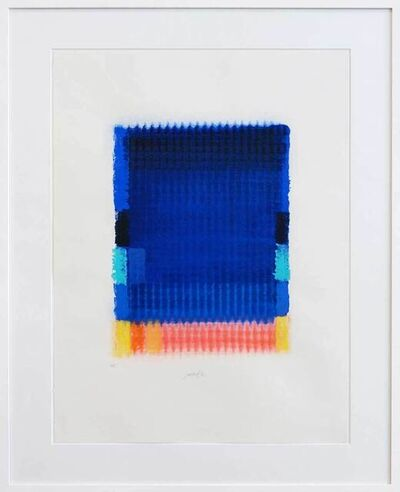 Heinz Mack, '...so bin ich doch schön über und über wie die Wandbehänge in Salomos Gemach', 1993
