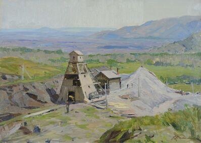 Aleksandr Timofeevich Danilichev, 'Mines', 1954