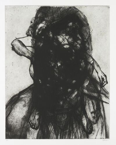 Glenn Brown, 'Layered Portrait (After Lucian Freud) 3', 2008