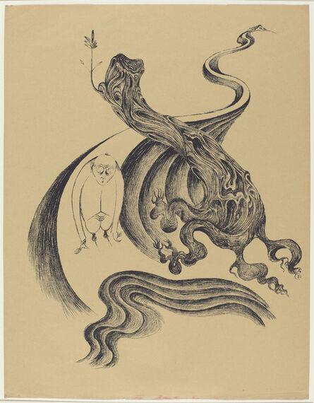 Heinrich Hoerle, 'Am Wegende (End of the Road)', 1920