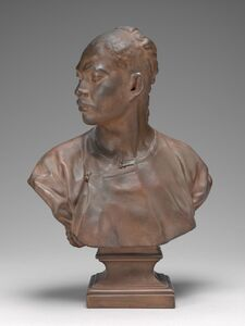 Jean-Baptiste Carpeaux, 'Bust of a Chinese Man', model c. 1872