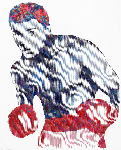 Virginie Schroeder, 'Muhammad Ali.  More Than A Boxer...A Legend Forever', 2020