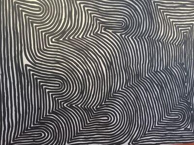 Ronnie Tjampitjinpa, 'Water Dreaming', 2000