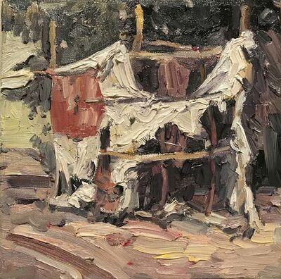 Hung Liu 刘虹, 'Duster Shack 2', 2019