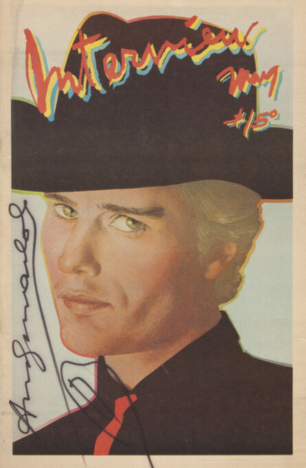Andy Warhol, 'A vintage edition of Andy Warhol's Interview magazine (Vol. IX No. 5, 1979)', 1979