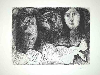Pablo Picasso, 'The Fall of Icarus', 1972