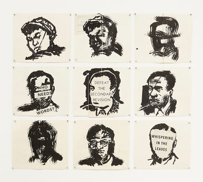 William Kentridge, 'Untitled (Whispering in the Leaves)', 2016