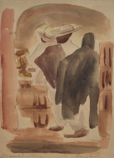 Ralph Wickiser, 'Mexican Series 3', 1938