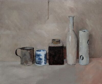 William Packer, 'Blue and White - Anna's Pot', 2018