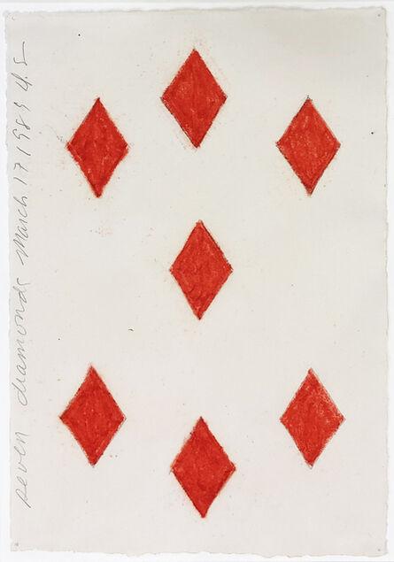 Donald Sultan, ' Seven Diamonds March 17 1989 ', 1989