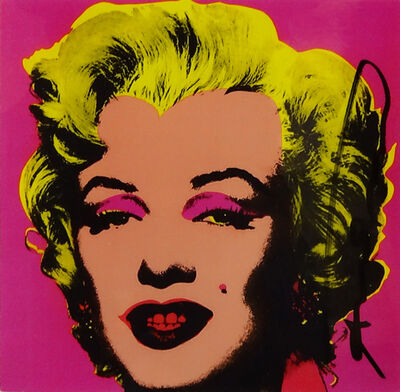 Andy Warhol, 'MARILYN (ANNOUNCEMENT)', 1981