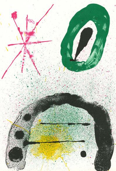 Joan Miró, 'Joan Miró 1963 Lithograph Derrière Le Miroir', 1963