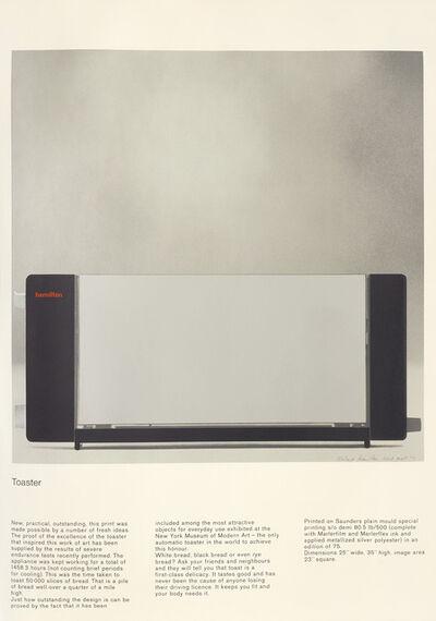 Richard Hamilton, 'Toaster (L. 63)', 1967