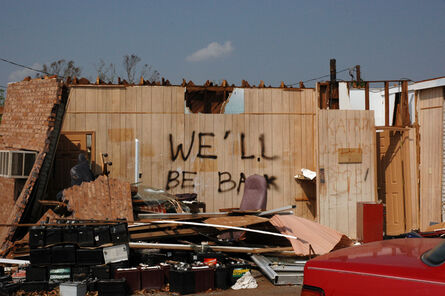 Zoe Strauss, 'We'll Be Back, Mississippi Gulf Coast, Mid September, 2005', 2005