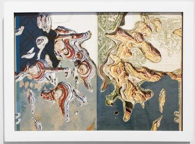 Noriko Ambe, 'Flat Globe Cutting Book Series - Wall Coverings', 2006