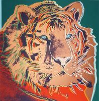 Andy Warhol, 'Siberian Tiger (FS II.297)', 1983