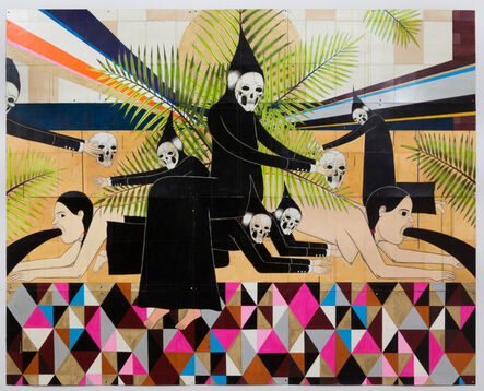 Richard Colman, 'Six Reapers With Palms', 2013