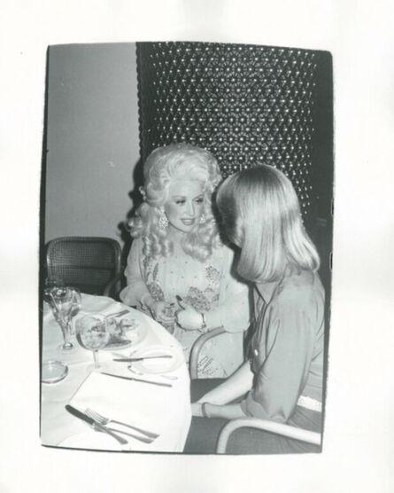 Andy Warhol, 'Dolly Parton and Olivia Newton-John', ca. 1976