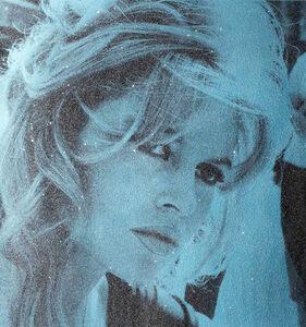 David Studwell, 'Brigitte Bardot, Powder Blue', 2017-2019
