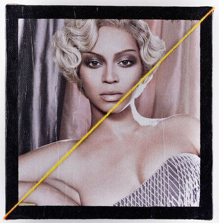 Przemek Matecki, 'Beyonce Knowles, from the Small Paintings series (A119)', 2016-2018