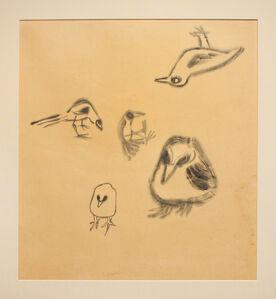Morris Graves, 'FIVE BIRDS', 1943