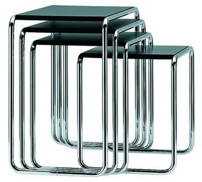 "Marcel Breuer, 'Set side tables ""B9""', 1925"