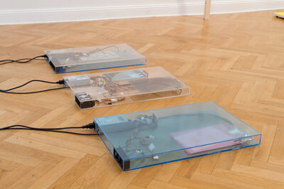 Yuri Pattison, 'dust, scraper, fan .3 (working title)', 2015