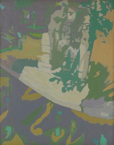 Ralph Wickiser, 'Apple Tree in Yellow', 1990