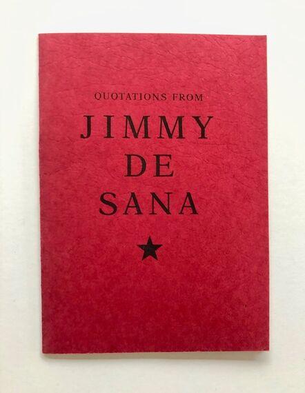 Jimmy DeSana, 'Quotations', 1988