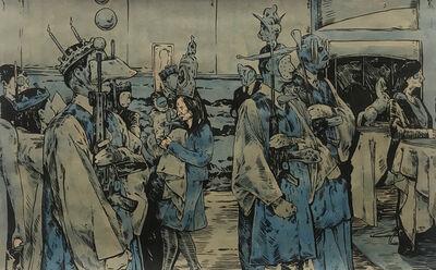 William Buchina, 'Scenery in Blue #15', 2021
