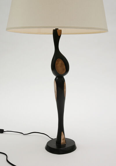 Jacques Jarrige, 'Lola Bronze  pair of Table Lamp by Jacques Jarrige', 2015